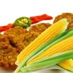 Corn Tikki - Starters
